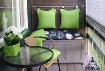 Love my balcony / Love my balcony and plenty of ideas for this great space.