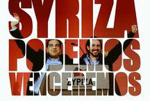 Syriza, Unidos,Podemos, Venceremos, ΑΝΕΛ / ΑΡΙΣΤΕΡΑ-ΑΛΕΞΗΣ ΤΣΙΠΡΑΣ ΗΓΕΤΗΣ ΠΡΩΘΥΠΟΥΡΓΟΣ ΕΝΑΣ ΑΝΘΡΩΠΟΣ ΜΕ ΤΕΡΑΣΤΙΑ ΚΑΡΔΙΑ ΚΑΙ ΑΓΝΗ ΨΥΧΗ!