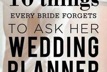 Wedding To-Do List & Tips