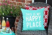 Love patio accessories / Let's pimp up your plot with patio accessory ideas.