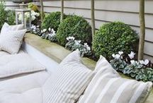 Love my sofa set / What to change your plot into a outdoor living room. Just add a sofa set to get started.