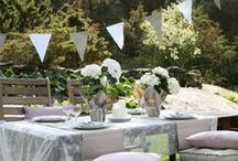 Love outdoor entertaining / Entertaining in our plot, is what it's all about.
