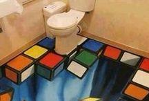 Niestandardowe łazienki / Właścicielom tych łazienek nuda nie grozi !!!