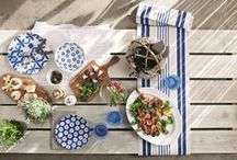 Al Fresco Get The Look / This year is about grabbing your friends, bright coloured al fresco accessories and having a good time.