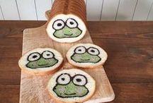 arte com pães
