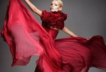 RED fashion / by muru