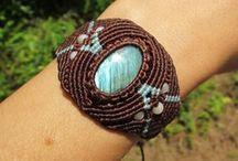 Tutoriales macrame-nudos-trenzado ( Macrame-knots-braided tutorials) / Jewelry / by Mase