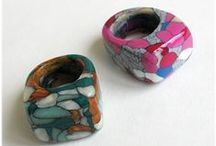 Arcilla polimérica ( Polymer Clay ) / Jewelry / by Mase