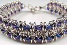 Diseños chainmaille (Chainmaille designs) / Jewelry / by Mase