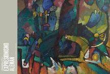 El impulso gráfico. Expresionismo Alemán. / Julio 2012 - Septiembre 2012  El expresionismo, amplio movimiento moderno que se desarrolló en Alemania y Austria a principios del siglo XX, dio origen a un renacimiento sin precedentes en las artes gráficas. Fotografías por Adrián Villalobos.