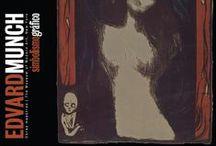 Edvard Munch. Simbolismo gráfico. / Al igual que otros artistas y escritores simbolistas de la década de 1890 en Europa Munch, rechazó la práctica impresionista de estudiar los efectos de la luz sobre el mundo exterior, en cambio miró hacia el interior para explorar temas de amor y celos, soledad y ansiedad, enfermedad y muerte. Fotografías por Adrián Villalobos.