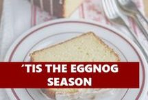 'Tis the EGGNOG season / All things eggnog, just for you!