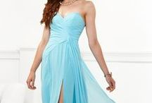 Blueish and other Prom dress / by Holly Alexandra Smith