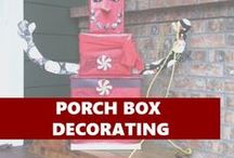 Porch Box Decorating