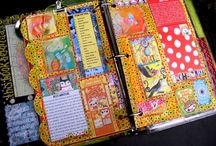 Smash Books / Lots of ideas for creating a DIY smash book!