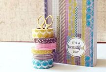 Washi Tape / It's so pretty, but what on Earth to do with it…