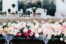 Wedding Table Settings / Beautiful wedding table settings to get you inspired! thegiftaisle.com.au
