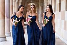 Bridesmaids Dresses / Bridesmaid dress inspiration - to help you pick your colours and style. thegiftaisle.com.au