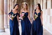 Bridesmaids Dresses / Bridesmaid dress inspiration - to help you pick your colours and style. thegiftaisle.com.au