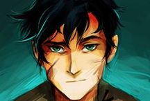 PJ, HP, THG / Son of Poseidon, Boy who Lived, Girl on Fire
