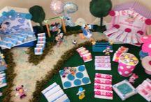 New born chocolate decorations /  Mickey and Minnie