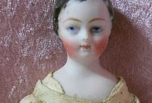 China Head.  Porcelain  doll.