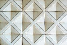 Tiles // pattern / textures // / wall & floor / by Imke