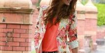 Spring & Summer Wardrobe Outfits / Spring & Summer Wardrobe Outfits, photoshoot outfits, wardrobe ideas. http://thetwelfthyear.com/