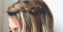 Partial Up Do Hairstyles | Half Up Half Down / Partial Up Do Hairstyles | Half Up Half Down Hairstyle inspiration, long hair, short hair. http://thetwelfthyear.com/