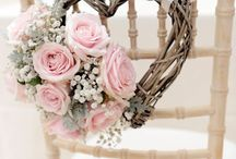Glamorous Pink Wedding / Inspirational Shoot . Pink & Gold Wedding