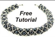 Free Beading Patterns - Easy / Free beading tutorials, ideas, patterns collection. Perfect for beginners, or for those, who are looking for fast projects.