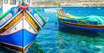 Malta / Join one of our language school in Malta and discover the sunny island of Malta with its turquoise water and mediterranean lifestyle ! #wepworld #malta #languagecourses https://www.wep.be/fr/partir-en-sejour-linguistique/malte/sejours