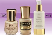 JAFRA Royal Jelly / JAFRA's story began with the legendary Royal Jelly, which has evolved into a whole line of incredible skin care products!