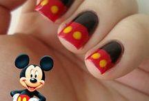 Disney-Style Nails