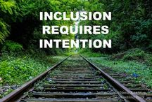 Inclusion / A collection of resources & articles about inclusion of children with disabilities/special needs in education.