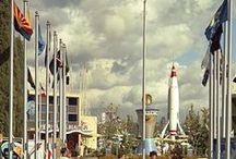 """The Disneyland Time-Machine! / """"I love the nostalgic myself. I hope we never lose some of the things of the past.""""  ~ Walt Disney   .....  This time machine will transport you to the bygone days of Disneyland!"""