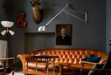 The Modern Man Cave / A place to gather and watch the game or just relax.