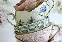 Tea cups / http://naturalknit-ecru.com