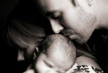 Magical photographs with moms, with dad and babies /  It's great to see!