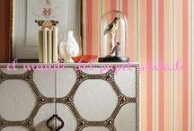 WAVERLY / Las paredes de una casa fijan su aura y personalidad. Una parte del patrimonio Waverly desde 1939, nuestros revestimientos murales asumen las ricas tradiciones de las colecciones de tejidos, con lo que su casa otra capa coordinada de textura de el estilo clásico de Waverly.