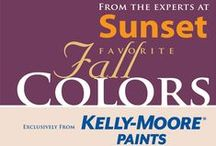 2014 Sunset's Favorite Fall Colors / As the leader in spotting west coast lifestyle trends, the experts at Sunset and Kelly-Moore Paints have chosen these seven colors to consider for your home this fall.
