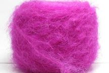 Pink / A collection of pink yarns for knitting and crochet and other textile crafts and pink things I like