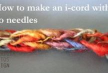 Knitting Tutorials / A collection of my knitting video tutorials covering the basics of knitting and some experimental and innovative knitting techniques.