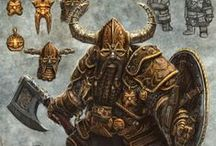 Dwarf Warrior character / Finding pose and image for game character