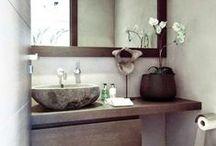 Ideas para tu baño / ¡En este tablero podrás encontrar ideas ingeniosas de decorar un baño!