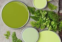 Color Story: Citron Green / This color story is citron green is a vibrant green and perfect for the current season