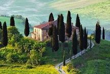 Visit Tuscany / You have to visit Tuscany at least once in a life time. The most famous region of Italy, known for its incredible artistic heritage, its delicious cuisine and fine wines. What are you waiting for?
