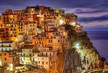 Visit Liguria / Pefect spot for a summer vacation in Italy, Liguria has a lot to offer both for families with children and couples wanting to relax by the sea and visit the many small villages along the Cinque Terre or the Riviera dei Fiori!