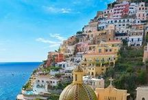 Visit Campania / Campania has some of the most beautiful villages of Italy and the most amazing sea! Sorrento, the Amalfi Coast and the Island of Capri are just some of the many touristic spots in this region...