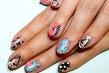 ♥ nail  / Pop,cute and cool ;)